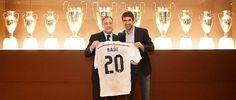 Homenaje del Real Madrid a Raúl por los 20 años de su debut