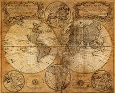 Mapamundi, 1746