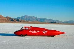 "Athol Grahams ""City of Salt Lake"" LSR car"