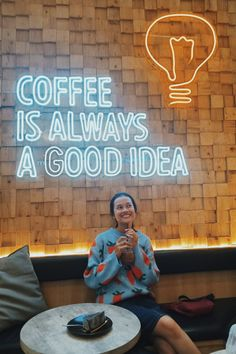 Coffee with me? Retail Interior Design, Restaurant Interior Design, Diy Neon Sign, Neon Signs, Hot Chocolate Coffee, Cafe Shop Design, Coffee Shop Logo, Retail Signage, Coffee Places