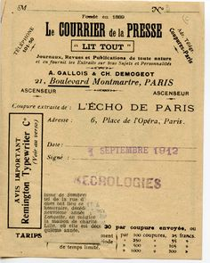 Image result for paris 1920s newspaper