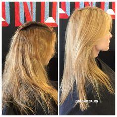 Happy Monday Blondies! ❤️ #beforeandafter #blonde #blondeporn #goblonde #blondesalon #vlights #matrixvlights #framesi #kevinmurphy #oribe #redkenshades #shadeseq #blondehair #blondecolor #blondtourage #blondecolorspecialist #THEBLONDESALON #COMEINWEREBLONDE