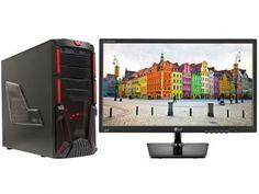 Computador Braview I505-1 Intel Core i5 16GB 1TB - Placa de Vídeo Dedicada Linux + Monitor LG LED com as melhores condições você encontra no Magazine 233435antonio. Confira!