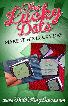 All of the ideas in this date are perfect for a St. Patrick's Day celebration with my husband! He is going to love being lucky in love and being spoiled rotten. www.TheDatingDivas.com