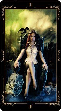 The Empress - Dark Fairytale Tarot