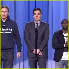 Will Ferrell & Kevin Hart's Epic Lip Sync Battle on 'Fallon' (Video)