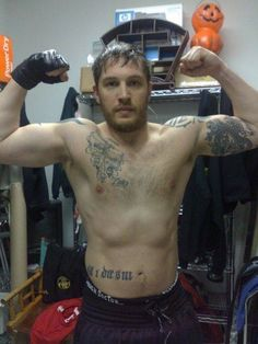 Tom Hardy's workout regimen for Warrior! (totally printing this and putting on my boyfriend's bed.)