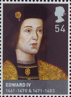 House of Lancaster and York.             Issued Feb 2008.                                Edward IV.                                               1461-1470 and 1471-1483