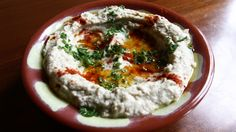 Baba ghannouj at Kan Zaman in #Chicago #vegetarian   www.chefsfeed.com