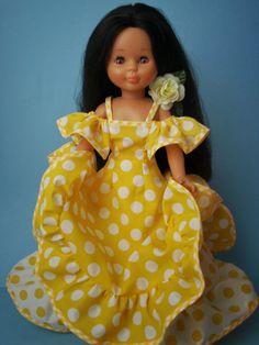 Mi rincón con Nancy Carmen20                                                                                                                                                                                 Más Baby Blanket Crochet, Crochet Baby, Nancy Doll, America Girl, African Fashion Dresses, Girl Doll Clothes, 18 Inch Doll, Reborn Dolls, Cute Dolls