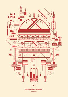 Petros Afshar  #graphic design #design #Illustration #Typography #Branding design #red