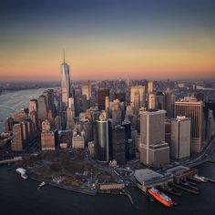 New York City Feelings - Lower Manhattan by @flynyon @vinfarrell @nyonair