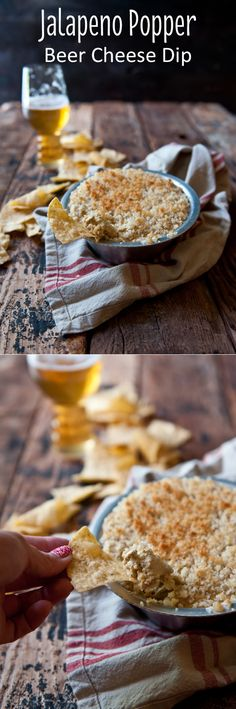 This is a guaranteed hit at any tailgate or game day party! Jalapeno popper BEER cheese dip! Yes, all those ingredients in one delicious recipe.