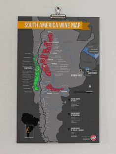 South America Wine Map. http://shop.winefolly.com/collections/regional-wine-maps/products/south-america-map