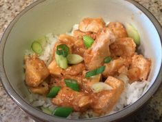 Orange Chicken - Michelle's Recipe Binder.....a healthy version of a favorite Chinese take-out meal!!