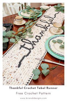 Thanksgiving Crochet, Holiday Crochet, Halloween Crochet, Crochet Gifts, Cute Crochet, Thanksgiving Games, Crochet Round, Crochet Table Runner Pattern, Crochet Placemats