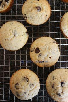 Mi Diario de Cocina: Muffins con chips de chocolate