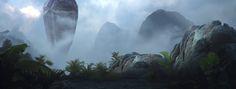 ArtStation - Sim Singh's submission on Ancient Civilizations: Lost & Found - Film/VFX Matte Painting
