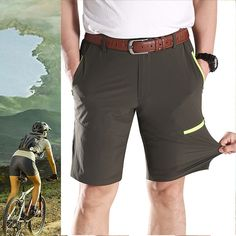 Sale 23% (33.25$) - Large Size L-5XL High Elastic Outdoor Quick-drying Pants Men\'s Casual Knee-length Shorts