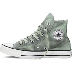 Converse Chuck Taylor All Star Dual Zip Black Wash – mint julep... ($70) ❤ liked on Polyvore featuring shoes, sneakers, canvas high tops, converse trainers, mint green shoes, canvas shoes and converse high tops