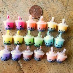 Bubble Tea Cute Charms!