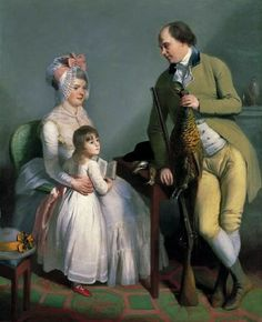 """""""Mr. and Mrs. John Custance of Norwich"""" by Sir William Beechey (1786)"""
