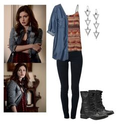 """Hayley Marshall 1x12 - the originals"" by shadyannon ❤ liked on Polyvore featuring Steve Madden, STELLA McCARTNEY, Vero Moda and H&M"