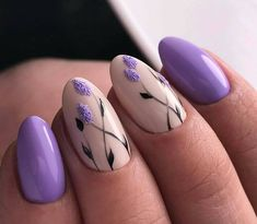 Nail art is one of many ways to boost your style. Try something different for each of your nails will surprise you. You do not have to use acrylic nail designs to have nail art on them. Here are several nail art ideas you need in spring! Cute Spring Nails, Spring Nail Art, Nail Designs Spring, Nail Art Designs, Acrylic Spring Nails, Cute Nail Art, Easy Nail Art, Cute Nails, Trendy Nails