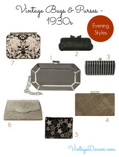 acacefe486 1930s Handbags and Purses History with Pictures