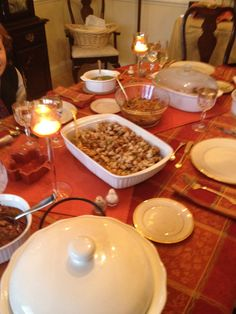 Autumn is one of my favorite times of the year. This was a simple, quiet Sunday dinner.