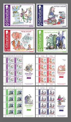 Postage Stamps Based on Children's Books