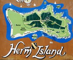 Herm Island - part of the Channel Islands