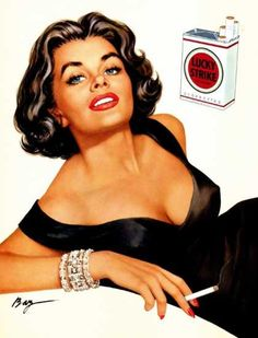 smouldering cigarette temptress