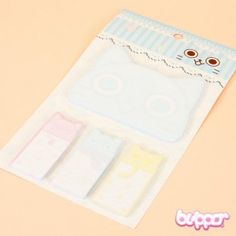 Cat Sticky Memo and Index Pad - Notebooks & Pads - Stationery | Blippo.com - Japan & Kawaii Shop