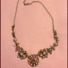 I just discovered this while shopping on Poshmark: Lia Sophia necklace. Check it out!  Size: OS