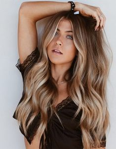 Most Alluring Balayage Hair Color Ideas for Long Hair
