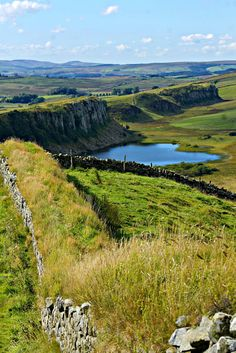 Hadrians Wall, Northumberland, England by Borderer 2009