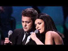 Michael Buble feat. Laura Pausini - You will never Find - Caught in the Act  Mahalo Toku for sharing