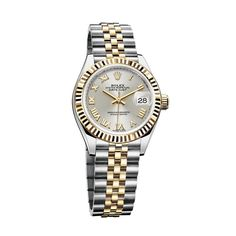 add4502f51f Rolex s Oyster Perpetual Lady-Datejust 28mm watch in Yellow Rolesor watch  is a classic for