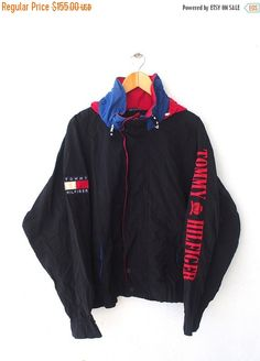 Rare !! Vtg 90s NIKE Windbreaker // Hoodie // Sweater Pullover Hiphop Large Size #01 WTfMGa6f5
