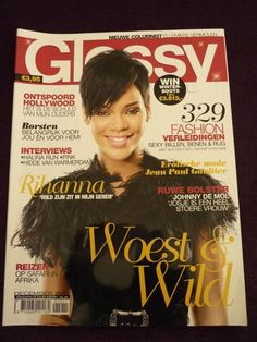 RIHANNA on Dutch Glossy magazine cover