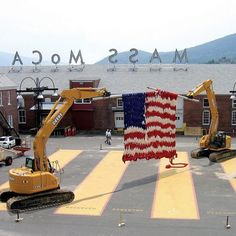 Art as antidote? Shake off this season's heated campaigns tomorrow (Wednesday November 4) when all North Adams residents are invited to MASS MoCA for free. (Just bring an ID or utility bill with your 01247 address.) by massmoca