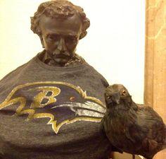 Edgar Allen Poe, Ravens Fan
