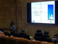 """Auke Slotegraaf - Sivuyile from @SAAO introducing #astronomy and SALT to @dstgovza staff at Astronomy Day 2018. """"Astronomy inspires curiosity.. has multicultural origins.. appeals to all.. one of the key drivers of technology"""""""