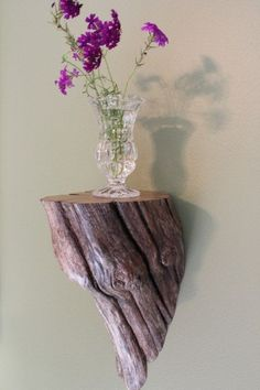 Driftwood shelf by barbara.stone