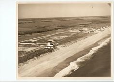 Ocean City Motel and Pier on Topsail Island in 1953