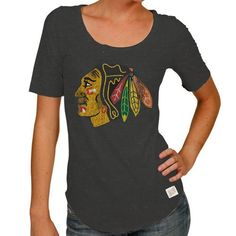 Chicago Blackhawks 1/2 Sleeve Scoop Neck Charcoal Tee by Original Retro Brand Select a Size: Large Original Retro Brand,http://www.amazon.com/dp/B00DJVSLJE/ref=cm_sw_r_pi_dp_35CZrb0ZTVD0ZQGY