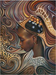 artist sylvia gbaby cohen  art black women art african art