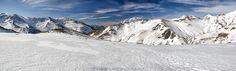 panorama montaña palentina - Panorámica de la montaña palentina en la ruta del Pozo de las Lomas