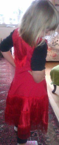 Dans kjole latin - Dance dress latin